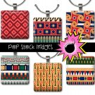 1 Inch Squares EGYPTIAN DESIGNS Collage Sheet Set 2-print for PendantsMagnets & Wine Charms-EGYPT