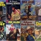 DVD Gold Age COWBOY WESTERN (Dell Comics) (vol 2) Gene Autry Rex Allen Ranger