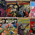 DVD Golden Age Comics HORROR ADVENTURES Comics  Into Unknown The Night skeleton
