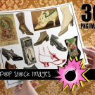 Vintage Women's Shoes - Digital Img. Women's Shoes & Shoe