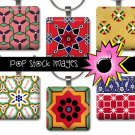 1 Inch Squares PERSIAN DESIGNS Collage Sheet-print for PendantsMagnets & Wine Charms-PERSIAN