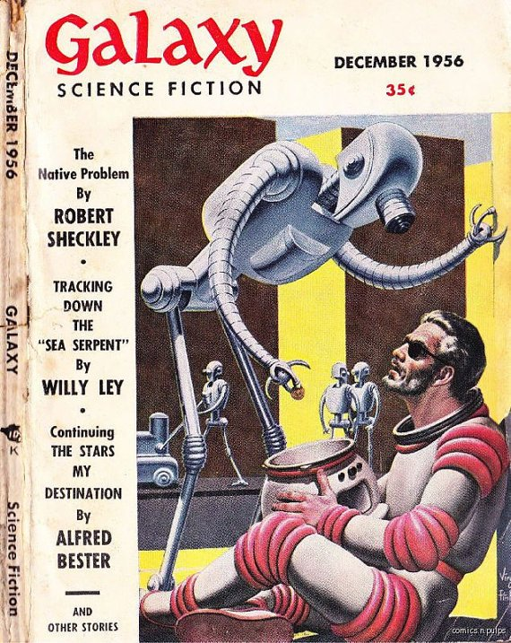 DVD Pulp Magazines 1950s GALAXY SCIENCE Fiction Vol 1- Golden Age World Editions