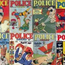 Comic Magazines POLICE COMICS DVD  Jack Cole Plastic Man ebook stories