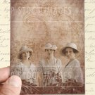Daughters of DOWNTON ABBEY-Collage Sheet-print Journal Cards-Tags-Scrapbooking-Victorian