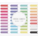 Arrows Banners Grosgrain Stitch Clip Art