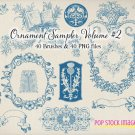 Decorative Frames Ornaments Brushes Volume 2-Photoshp. Brushes Fancy Ornament