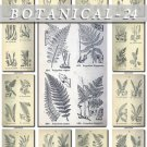 BOTANICAL-24-bw 320 black-, -white vintage print
