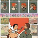 CHILDREN BOOKS-3 illustrations Collection with 270 vintage print