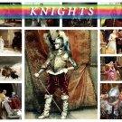 KNIGHTS on 121 vintage print