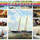 TRANSPORT CARS on 225 vintage print