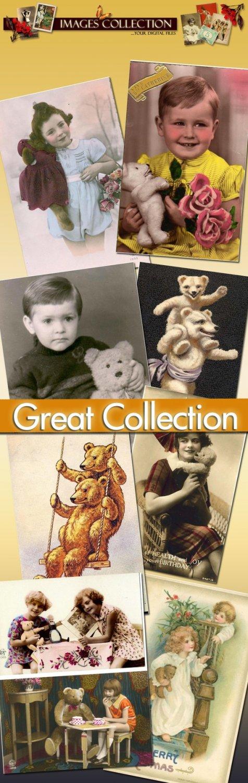 90 jpeg files ephemera images cards labels decoupage art photo vintage print