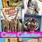 Digital Img. collection Circus Posters 150 Jpeg files