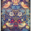 Bird Vintage Wallpaper Printable Image 5x7 inches Digital Background