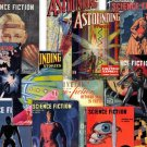 DVD Golden Age Pulp Mag ASTOUNDING SCIENCE Fiction  Clayton Street Smith books