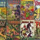 DVD Gold Age JUNGLE ADVENTURES Comics (Vol 3) Fiction House Jumbo Sheena St John