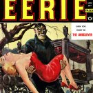 HORROR & WESTERN Pulp Magazines Books 80 Issues DVD of Weird Tales Eerie Thrill Cowboy Rider