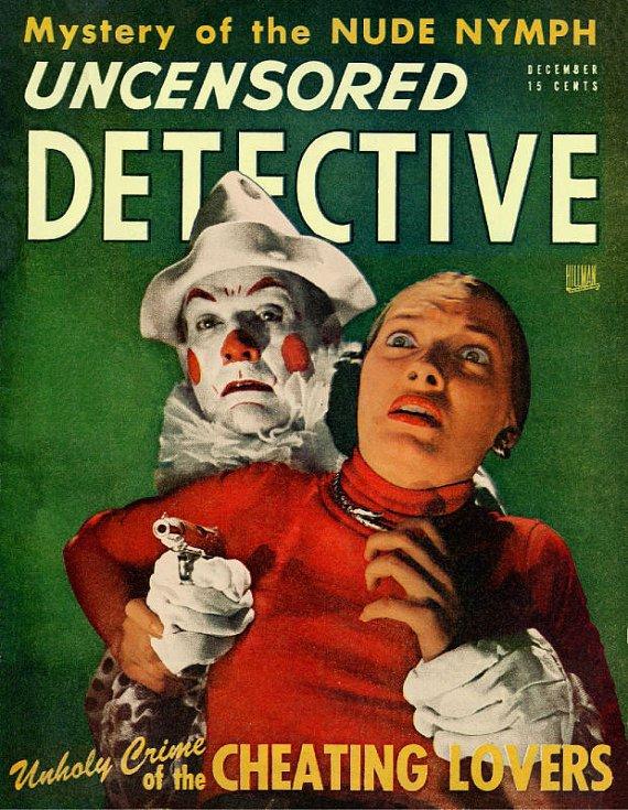 DVD Pulp Magazines vintage print