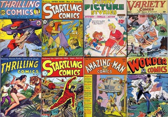 Better STARTLING THRILLING Wonder Comics DVD (Golden Age Vol 2) Centaur Croydon