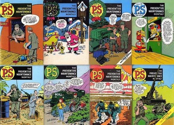 DVD Golden Age Comics WILL EISNER - The Preventative Maintenance Magazine Ps mag