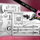 Masonic Symbols Digital Img.