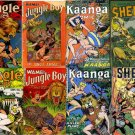 DVD Golden Age FICTION HOUSE Jungle Comics  Sheena Queen Wambi Kaanga 1920s