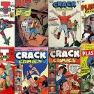 Quality PLASTIC MAN Crack Hit Comics DVD  Lou Fine