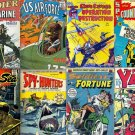 WORLD WAR Comics DVD Golden Age-Avon Nedor American Marines Spy Hunters Fighting Yank