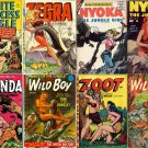 DVD Golden Age JUNGLE ACTION Adventures Comics Nyoka Girl Charlton Fawcett Fox Feature