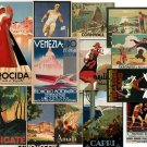 DVD Hi Res Art: 234 Old World Travel TOURISM POSTERS Vol 2 United States Canada Eygpt Aus