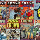 Quality SMASH Comics & CROWN Comics DVD  Bozo Lady Luck Magazines