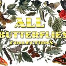 BUTTERFLIES Collections 1-48 with 10600 vintage print