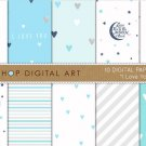 Digital Paper I Love You III