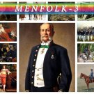 MENFOLK WARRIORS-3 130 vintage print