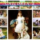CHILDREN-2 215 vintage print