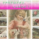 EPHEMERA-1 Collection with 400 vintage print