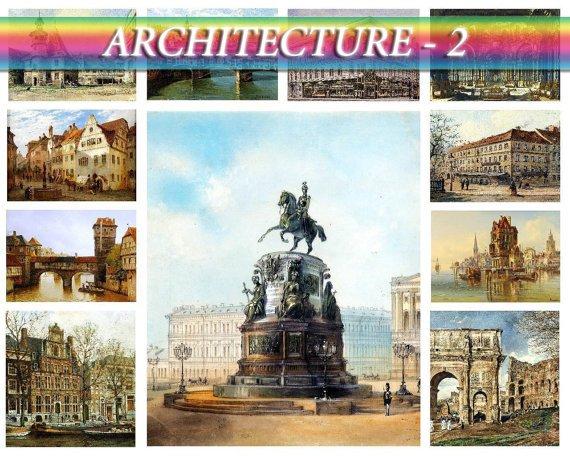 ARCHITECTURE-2 on 231 vintage print
