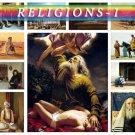 RELIGIONS-1 theme on 188 vintage print
