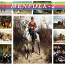 MENFOLK WARRIORS-2 160 vintage print