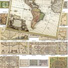 ANTIQUE MAPS-1 200 large size Img. printable old ancient World ephemera card