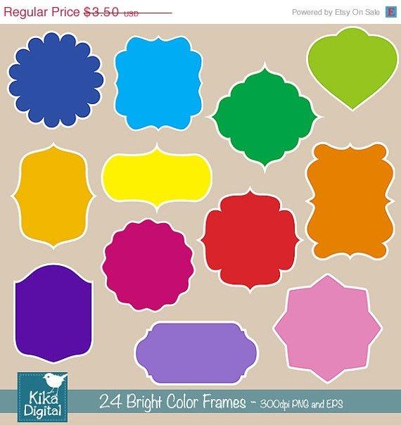 Bright Color Frames, Basic Digital