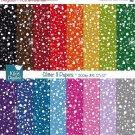 Glitter II Digital Papers-Colorful Digital Scrapbookig Papers-card