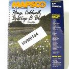 Mapsco Street Atlas Hays Caldwell counties Texas 1st ed 2000