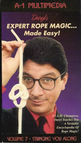 Daryl's Expert Rope Magic Made Easy vol 7 VHS