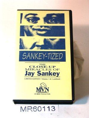 Jay Sankey Sankey-tized v1 and 2 close-up magic VHS