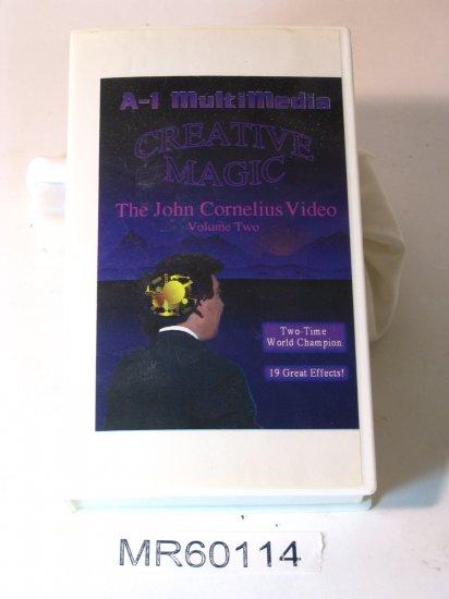 John Cornelius Creative Magic vol.2 (19 effects) VHS
