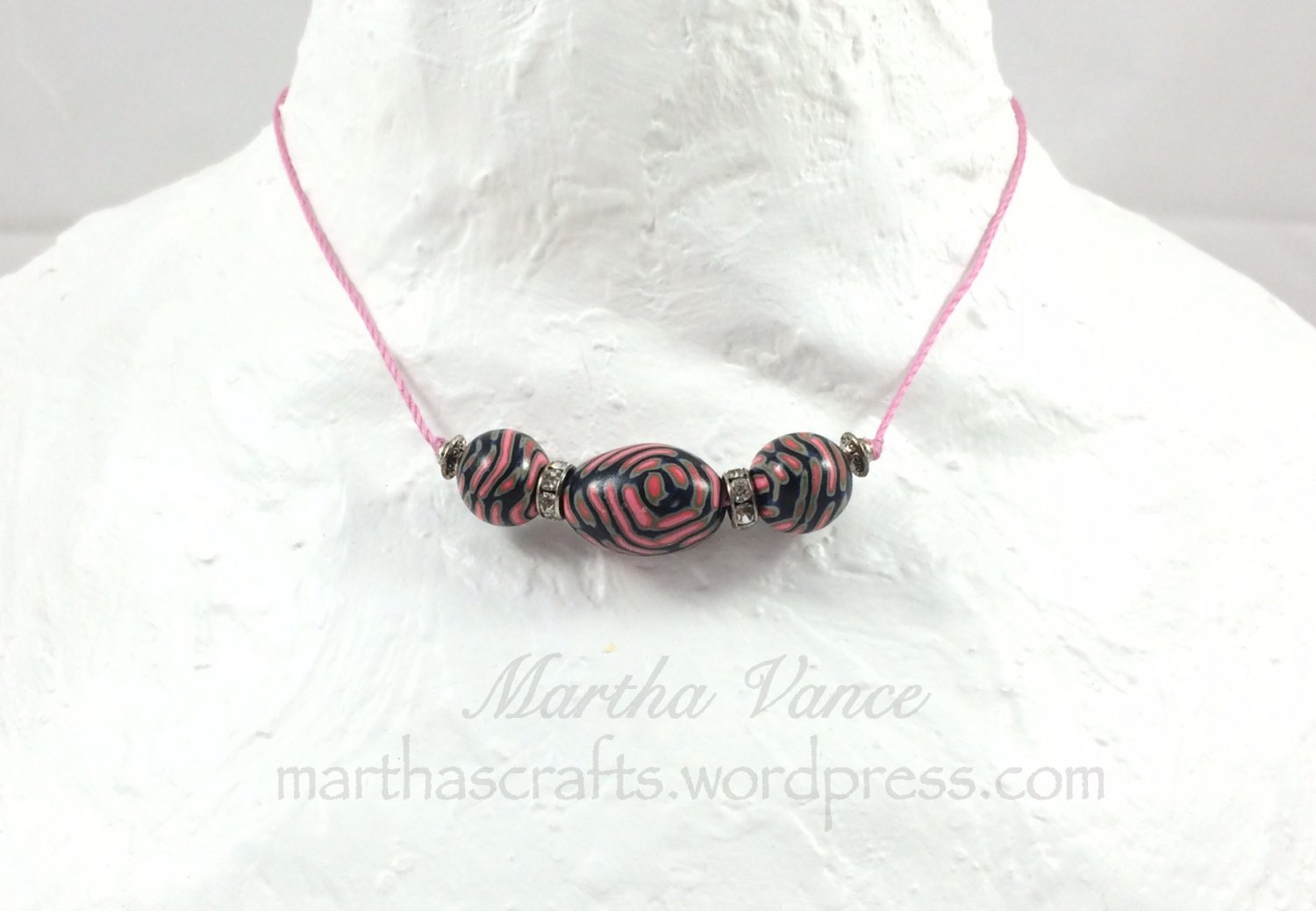 Polymer Beads Necklace