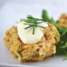 Mini Crab Cake W/Lemon Aioli