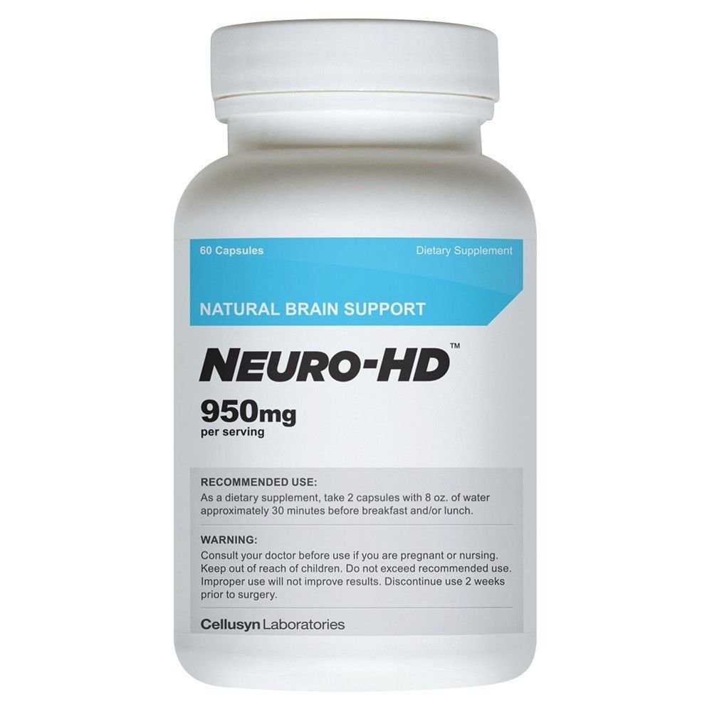 Neuro-HD Brain Supplement for Focus, Memory and Concentration Limitless Pill