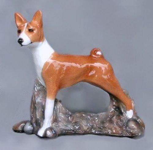 Ron Hevener Collectible Basenji Dog Figurine