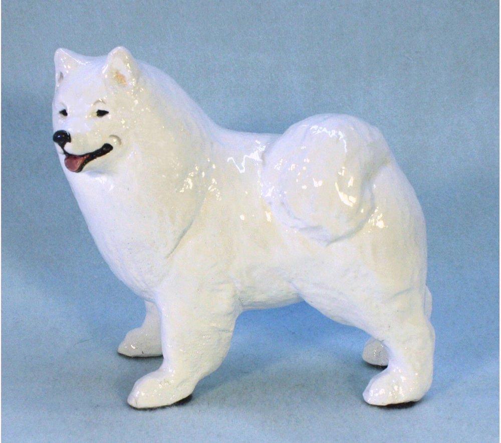 Samoyed Dog Figurine